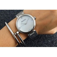 GUCCI exquisite beauty watches F-Fushida-8899 Silver