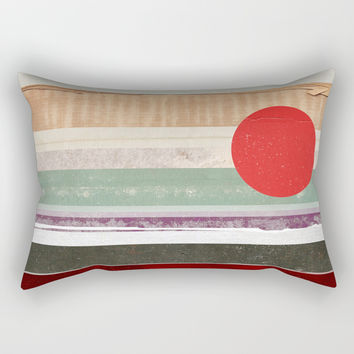 Strips Rectangular Pillow by avoidperil