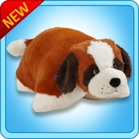 Pillow Pets®  Folding Plush :: St. Bernard - My Pillow Pets® | The Official Home of Pillow Pets®
