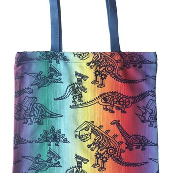 Land Before Cogs - Pinion REVERSE Large Tote