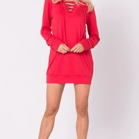 Dina Sweat Shirt Dress