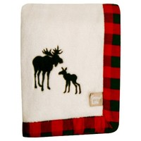 Trend Lab Northwoods Moose Receiving Blanket