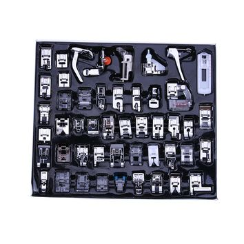 Sewing Queen Lover Box (32 Piece Sewing Machine Feet) 48Pcs