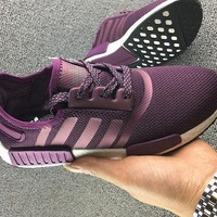 "Women ""Adidas"" NMD Boost Casual Sports Shoes Purple"