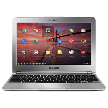Samsung XE303C12-A01US Exynos 5 Dual-Core 1.7GHz 2GB 16GB 11.6 LED Chromebook Chrome OS w-Webcam (Silver Skin)