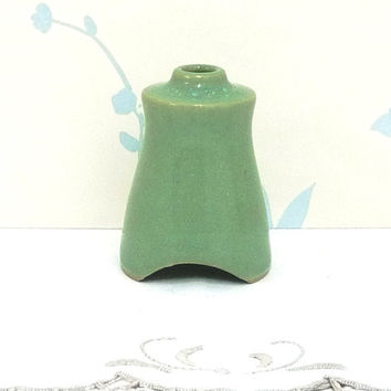 Denby Pottery Manor or Regency Green Pie Funnel, Crust Support, Pie Steam Vent, Stoneware, Bakeware, Houseware, Retro, Made in England