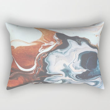 Move with me Rectangular Pillow by duckyb