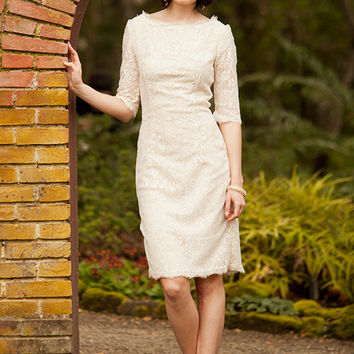 Shabby Apple With This Ring Dress