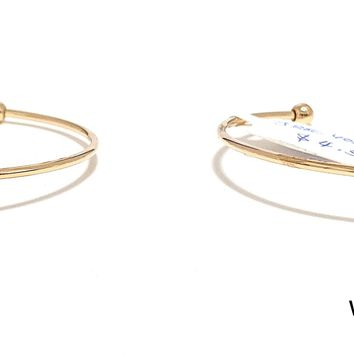 Kids Adjustable Bangle Bracelet - Single Line