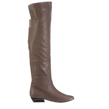 Chinese Laundry Tally Ho  Taupe Over The Knee Boot