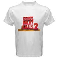 Cloudy with a Chance of Meatballs 2 black Tshirt size S,M,L,XL,2XL-5XL