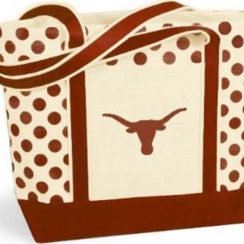 Texas Longhorns - NCAA Polka Dot Tote