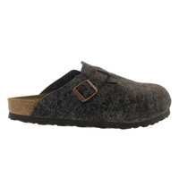 Women's BOSTON mocha birko felt clogs - Narrow