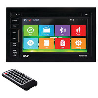 """Pyle 6.5"""" Double-din In-dash Navigation Mechless Am And Fm-mpx Receiver With Gps & Bluetooth"""