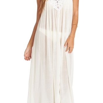 Billabong Lace Trim Maxi Cover-Up Dress | Nordstrom