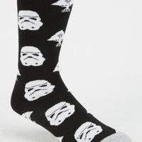 Lrg X Star Wars Tree Empire Mens Socks Black One Size For Men 26875110001