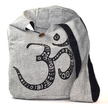 AUM, Ohm, OM Crossbody Everything Bag - Grey