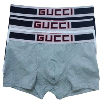 GUCCI New fashion men boxer briefs underwear three color
