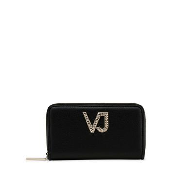 Versace Jeans Black Synthetic Leather Purses