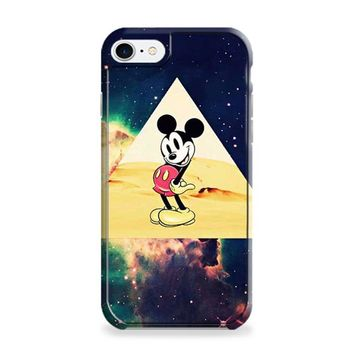 disney Mickey mouse Hipster Triangle Galaxy iPhone 7 | iPhone 7 Plus Case