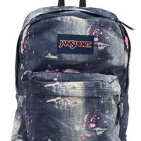 JanSport Superbreak Backpack Berrylicious Ditzy Daisy One Size