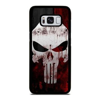 THE PUNISHER SKULL Samsung Galaxy S8 Case Cover