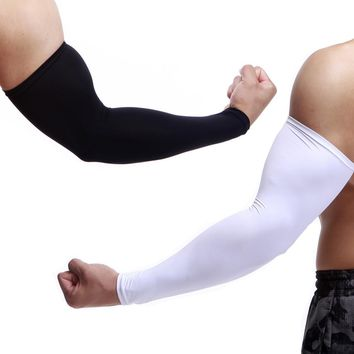 1PC Sun Protection Arm Cooling Sleeve Warmers Cuffs UV Protection Mens Sleeves ping M0510