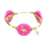 Moon & Lola xx Bourbon & Boweties Flamingo Bangle