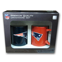 Hunter 2 Pack Coffee Mug - New England Patriots