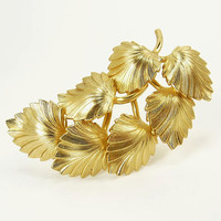 Henkel & Grosse Gold Leaf Brooch