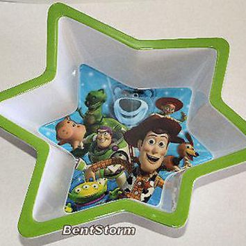 Licensed cool DISNEY STORE Toy Story Woody Friends Star Shaped Child Cereal Ice Cream  BOWL