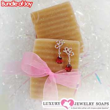 Bundle of Joy Luxury Jewelry Soaps