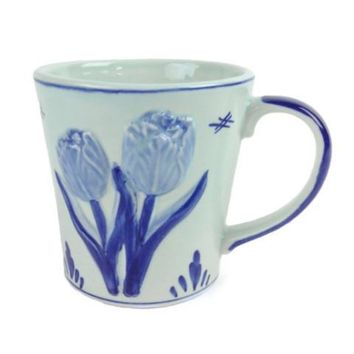 Deluxe Engraved Tulip Coffee Mug