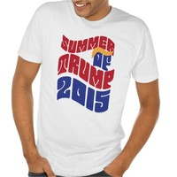 Summer of Trump 2015 Iconic Hair Tshirt