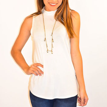 Here's to the Weekend Tank in Ivory