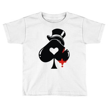 poker hat ace of spades Toddler T-shirt