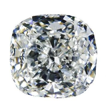0.3 ct - 6 ct Square Cushion Radiant Cut Diamond Veneer Loose Stone 4X4CUSH