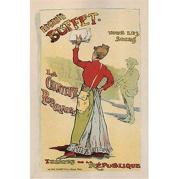 eugénie buffet SONGSTRESS  by leopold STEVENS france 24X36 VINTAGE poster