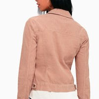 Hayes Rusty Rose Corduroy Jacket