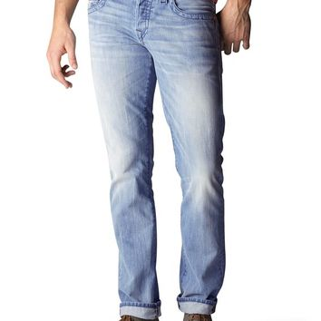 True Religion Geno Slim Mens Jean - Broken Hammer