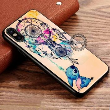 Dream Catcher Lilo and Stitch iPhone X 8 7 Plus 6s Cases Samsung Galaxy S8 Plus S7 edge NOTE 8 Covers #iphoneX #SamsungS8