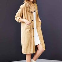 Urban Renewal Vintage Linen Shop Coat-