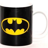 ROCKWORLDEAST - Batman, Coffee Mug, Black Logo