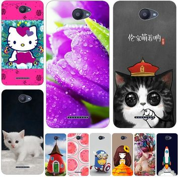 Marvel Juventus lovely Hello Kitty Coque Case For BQ Aquaris X BQ X PRO X5 X5 Plus U U Lite U Plus U2 Phone Back Cover Case