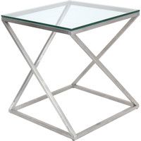 4Z Side Table, Clear