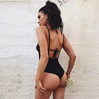 Awesome Summer Women Beach One Piece Swimsuit [519708770319]
