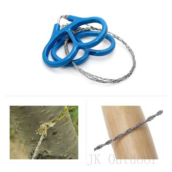 High strength Steel Wire Fretsaw Hiking Camping Hunting Adventure Scroll String Saws Outdoor Survival Necessary Tool Chain Saw