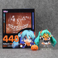 4''10CM Nendoroid Hatsune Miku Halloween Ver. #448 PVC Action Figure Model Collection Toy Hatsune Miku Figure