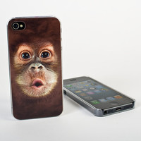 Big Face Baby Orangutan Case for iPhone at Firebox.com