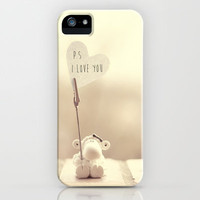 p.s i love you iPhone Case by ingz